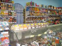 Прилавок магазина